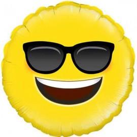 """Globos Foil de 18"""" (46Cm) Emoji Guay"""
