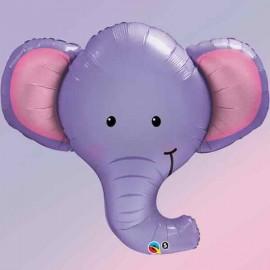 """Globos de foil Minishape 14"""" (36Cm) Elefante Qualatex"""