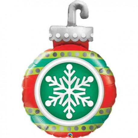 "Globos de foil de 35"" (89Cm) Adorno Navidad"