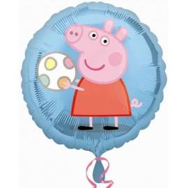 """Globos Foil 18"""" (45Cm) Peppa Pig Pelota"""