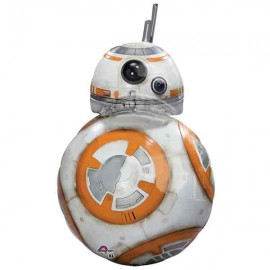 "Globos de foil 33"" X 20"" Star Wars BB-8"