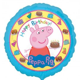 """Globos de foil de 18"""" (45Cm) Peppa Pig"""