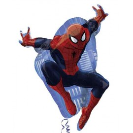"Globos de Foil 29"" X 17"" Ultimate Spiderman"