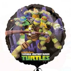 """Globos Foil de 18"""" Tortugas Ninja Nickelodeon"""
