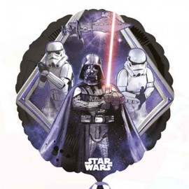 "Globos Foil de 18"" Darth Escoltado"