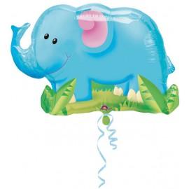 """Globos de foil de 33"""" X 22"""" Elefante"""