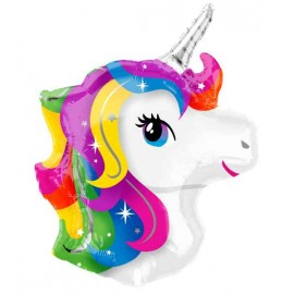 Globos de foil Supershape Unicornio Baby