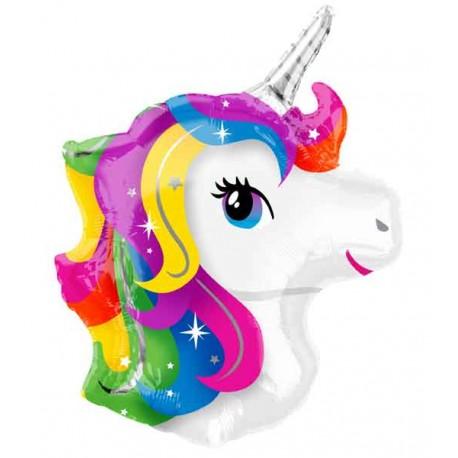 Globos de foil Supershape Unicornio Baby