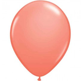 "Globos redondos de 11"" Coral Qualatex"