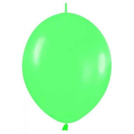 """Globos de 12"""" LINK O LOON Verde"""