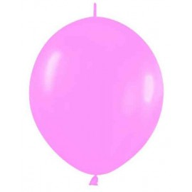 "Globos de 6"" LINK O LOON Rosa Chicle"
