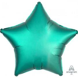 """Globos de foil Estrellas 19"""" Satin Jade"""