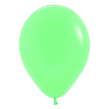 "Globos de 5"" Fashion solido verde MENTA"