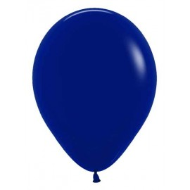 "Globos de 5"" Fashion solido Azul Naval"