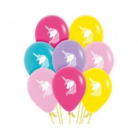 "Globos 12"" Surtido Fashion Unicornio"
