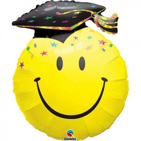 "Globos Foil Supershape 36"" (91Cm) Graduado Sonriente"
