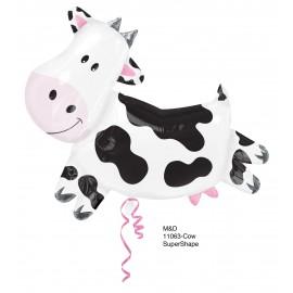"Globos de foil supershape de 30"" Vaca"
