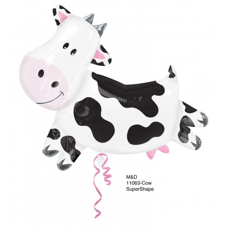 "GLOBOS DE FOIL SUPERSHAPE 30"" VACA"