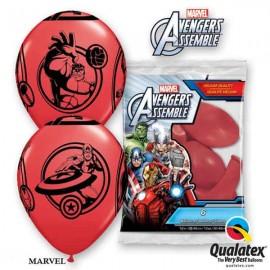 """Globos de 11"""" Avengers Qualatex Vengadores"""