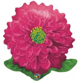 """Globos de foil de 23"""" Flor Roja"""