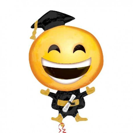 "Globos Foil Supershape 35"" (88Cm) Emoticon Graduado"