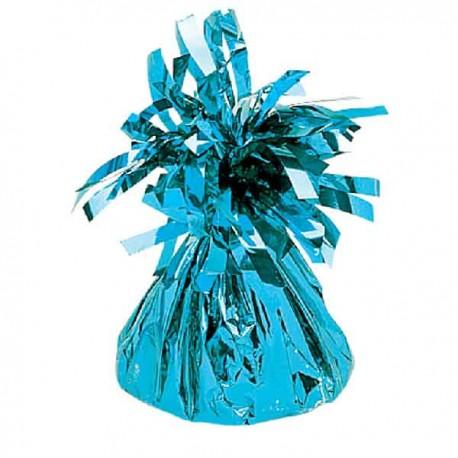 Peso para globos Foil Azul Claro