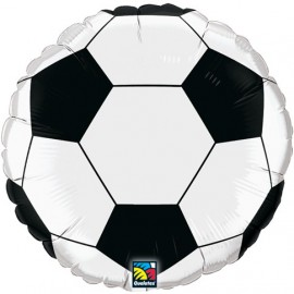 "Globos de foil de 18"" Futbol Qualatex"