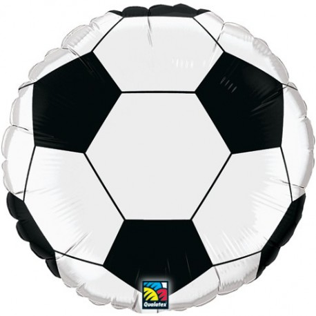 "GLOBOS DE FOIL 18"" FUTBOL QUALATEX"