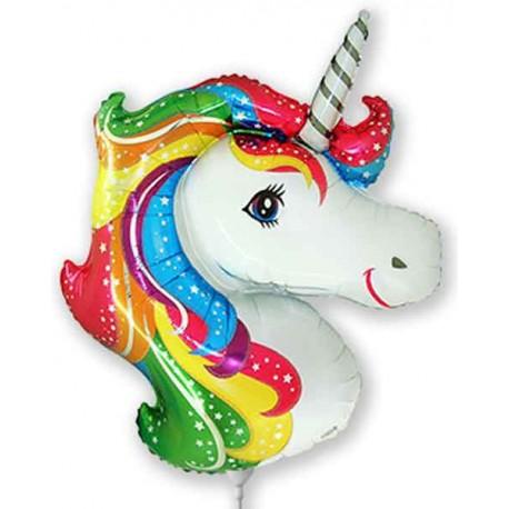 Globos Foil Mini Cabeza de Unicornio
