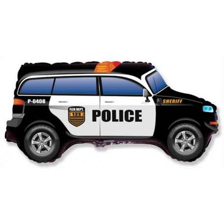 Globos de foil Supershape Coche de Policia