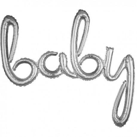 """Globos de foil de 39"""" (99Cm) baby"""