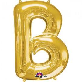 """Globos Foil 34"""" (86cm) Letra B Oro Anagram"""