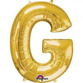 """Globos Foil 34"""" (86cm) Letra G Oro Anagram"""