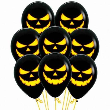 Globos R-12 (30Cm) Halloween Sombreros y Calabazas