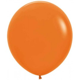 "Globos de 18"" (46Cm) Fashion solido Naranja"