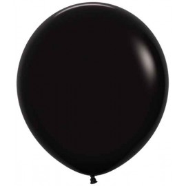 "Globos de 18"" (46Cm) Fashion solido Negro"