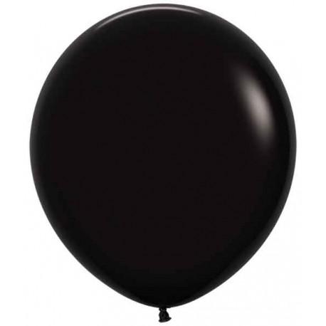 """Globos de 18"""" (46Cm) Fashion solido Negro"""