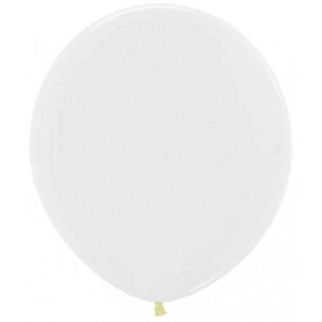"""Globos 18"""" (46Cm) Fashion solido Cristal Transparente"""