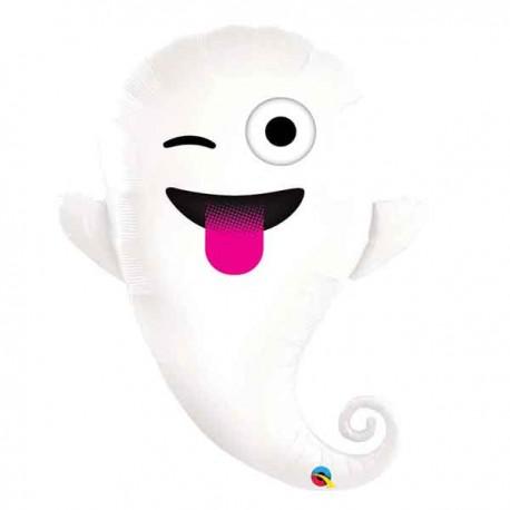 "Globos foil 34"" (86Cm) Fantasma Emoticono"