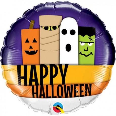 "Globos de foil de 18"" Clasicos Halloween"