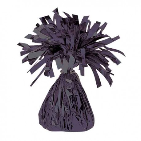 Peso para globos Foil Negro