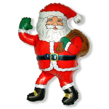 Globos Foil Mini 34cm x 28cm Papa Santa