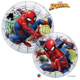 "Globos de 22"" Bubbles Spider Man Tela"