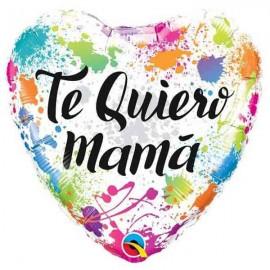"Globos Foil 18"" (45Cm) Te Quiero MAMA Colores"