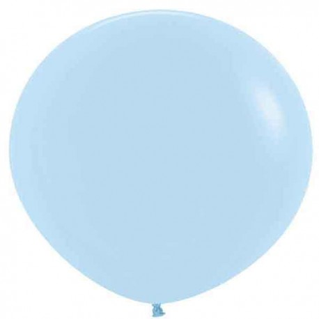 Globos 3FT (100cm) Fashion Azul Pastel