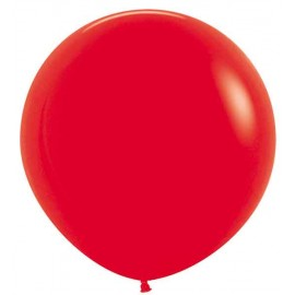 "Globos de Látex de 24"" (61Cm) Rojo"