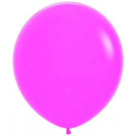 "Globos de 18"" (45Cm) Fashion solido Fucsia"
