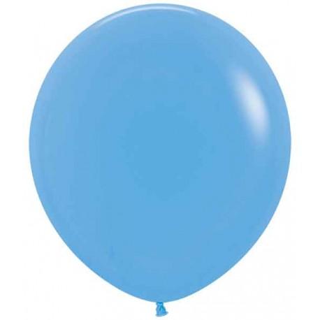 """Globos de 18"""" (45Cm) Fashion solido Azul"""