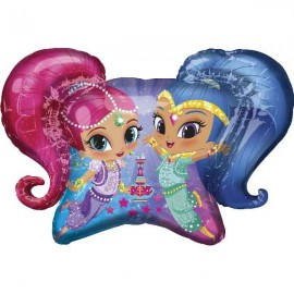 Globos Foil Supershape Shimmer & Shine