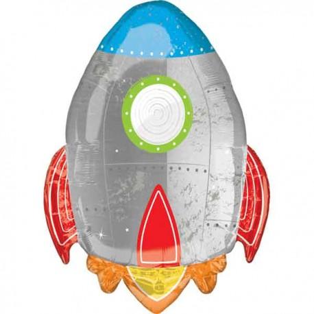 """Globos De Foil Supershape 29"""" (73Cm) Cohete"""
